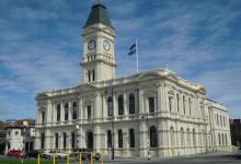 新西兰南岛城市奥玛鲁Oamaru