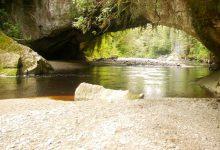 新西兰南岛西海岸地区奥帕拉拉盆地 Oparara Basin