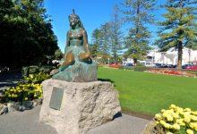 新西兰北岛城市内皮尔 Napier
