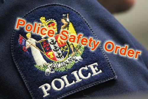 police-safety-order