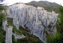 新西兰北岛普唐伊鲁阿峰风景保护区Putangirua Pinnacles Scenic Reserve