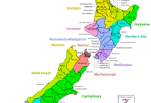 新西兰一级行政区划
