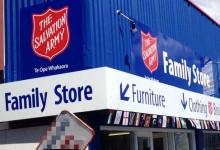 如何将旧物品捐给新西兰救世军的二手商店?