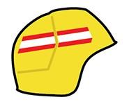 如何通过肩章和头盔识别新西兰消防员的等级?