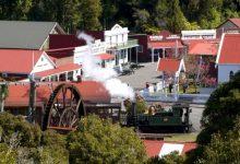 新西兰南岛旅游景点仙蒂镇 Shantytown