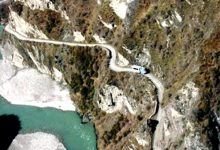 新西兰最危险的公路 Skippers Canyon Road