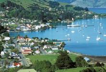 新西兰南岛法国风情小镇阿卡罗阿Akaroa