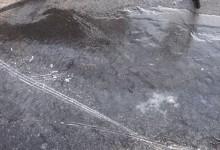新西兰南岛道路上的黑冰Black Ice