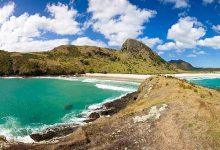 新西兰北岛旅游景点灵魂湾 Spirits Bay