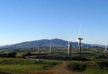 新西兰最大的风力发电场Tararua Wind Farm