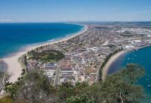 新西兰北岛城市陶朗加Tauranga