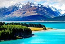 新西兰十大湖泊