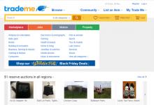 新西兰最大交易网站TradeMe将开始分析用户信息并投放广告