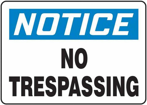 trespass-notices