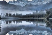 新西兰西部泰普提尼国家公园Tai Poutini