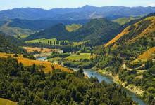 新西兰旺格努伊国家公园Whanganui