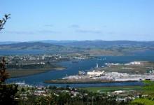 新西兰城市方格雷Whangarei
