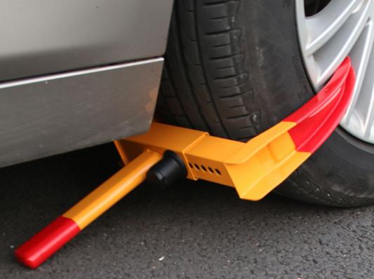 wheel-clamping