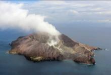 新西兰活火山怀特岛White Island